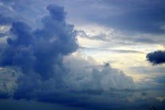 Plan rapproché de nuage photo stock