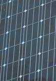 Plan rapproché de panneau solaire. photographie stock libre de droits