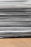 Pile des documents Images libres de droits
