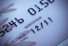 Plan rapproché de par la carte de crédit Image libre de droits