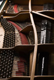 Plan rapproché de piano à queue Photo libre de droits