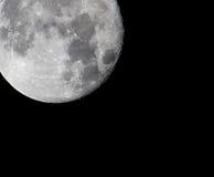 Plan rapproché de pleine lune, pris le 27 novembre 2015 Images stock