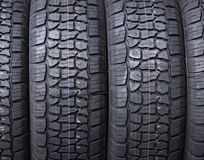 Plan rapproché de pneu Image stock