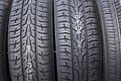 Plan rapproché de pneu Images libres de droits