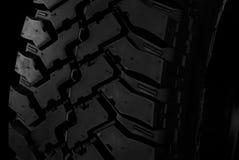Plan rapproché de pneu Photos libres de droits