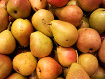Plan rapproché de poires Photographie stock libre de droits