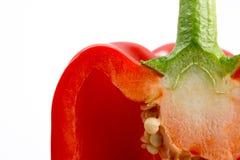 Plan rapproché de poivron Photographie stock
