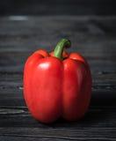 plan rapproché de poivron rouge doux image libre de droits