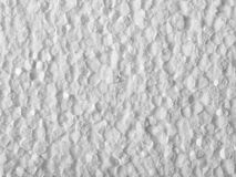 Plan rapproché de polystyrène Photographie stock libre de droits