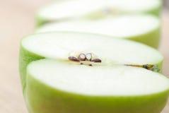 Plan rapproché de pomme Photos stock