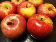 Plan rapproché de pomme rouge Image libre de droits
