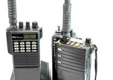 Plan rapproché de radio portative Images stock