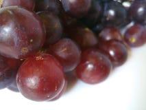 Plan rapproché de raisins rouges Image libre de droits