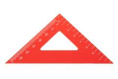 Plan rapproché de rapporteur de triangle. image libre de droits