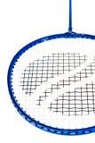 Plan rapproché de raquette de badminton Photographie stock libre de droits