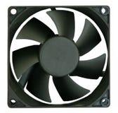 Plan rapproché de refroidisseur de ventilateur d'ordinateur Photographie stock