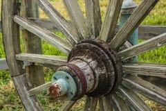 Plan rapproché de roues Image libre de droits
