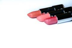 Plan rapproché de rouge à lèvres du côté Photo libre de droits