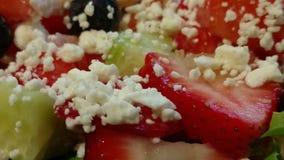 Plan rapproché de salade Photographie stock libre de droits