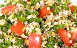 Plan rapproché de salade de Tabouli Photo libre de droits