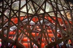 Plan rapproché de stade d'Olympis Images libres de droits