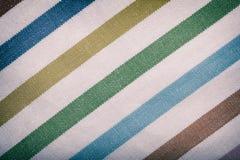 Plan rapproché de textile rayé coloré comme fond ou texture photo libre de droits