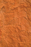 Plan rapproché de texture de brique rouge macro, vieille texture grunge approximative détaillée Photo stock
