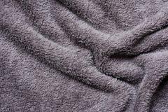 Plan rapproché de texture de microfiber pour le fond Photos stock