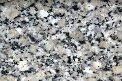 Plan rapproché de texture de pierre de noir de blanc gris de granit Image libre de droits