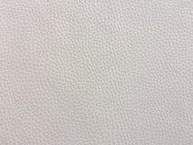 Plan rapproché de texture sans couture de cuir blanc Fond avec la texture du cuir blanc Photographie stock