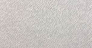 Plan rapproché de texture sans couture de cuir blanc Fond avec la texture du cuir blanc Photos libres de droits