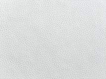 Plan rapproché de texture sans couture de cuir blanc Fond avec la texture du cuir blanc Photographie stock libre de droits