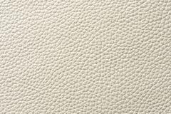 Plan rapproché de texture sans couture de cuir blanc Photo libre de droits