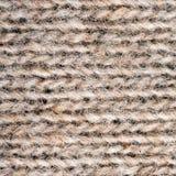 Plan rapproché de texture tricotée de laine Images stock