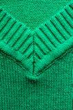 Plan rapproché de texture tricotée de tissu de laine Photos stock