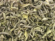 Plan rapproché de thé vert Photographie stock
