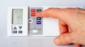 Thermostat Images libres de droits
