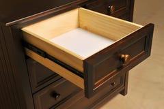 Plan rapproché de tiroir Image stock