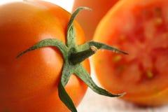 Plan rapproché de tomate Photos stock