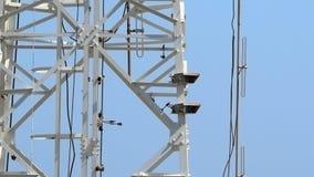 Plan rapproché de tour de télécommunication Photographie stock libre de droits