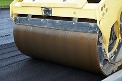Plan rapproché de vibration d'asphalte image libre de droits