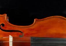 Plan rapproché de violon Image libre de droits