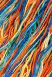 Plan rapproché des amorçages colorés Photos libres de droits