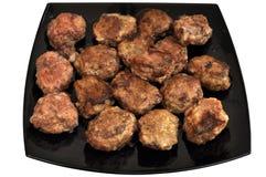 Plan rapproché des côtelettes délicieuses chaudes photo libre de droits