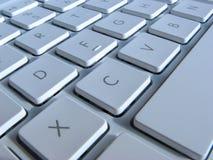 Plan rapproché des clés d'ordinateur portatif Image stock
