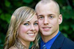 Plan rapproché des couples Photographie stock