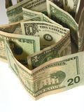 Plan rapproché des dollars 3 Images stock