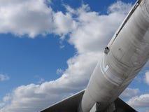 Plan rapproché des fragments et détails des vieux avions image libre de droits