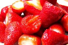 Plan rapproché des fraises Photographie stock libre de droits