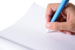 Plan rapproché des gens d'affaires d'inscription Photos libres de droits